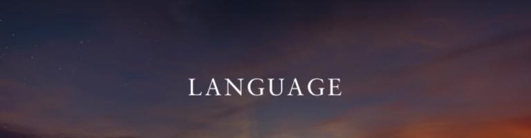 Video Still_Language
