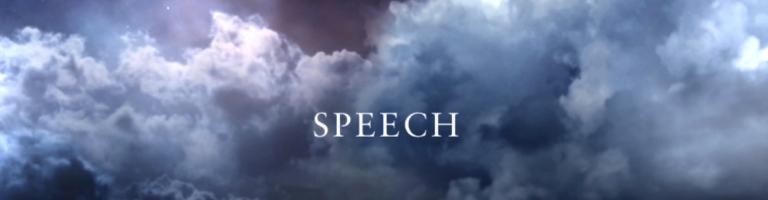 Video Still_Speech